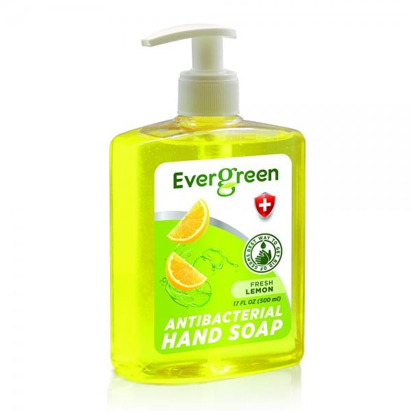Evergreen Antibacterial Hand Soap Fresh Lemon 534732-V001 by Evergreen