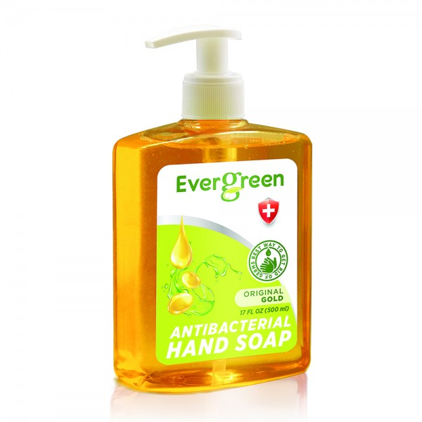 Evergreen Evergreen Anti-Bacterial Hand Soap Original Gold 500Ml 534733-V001 by Evergreen