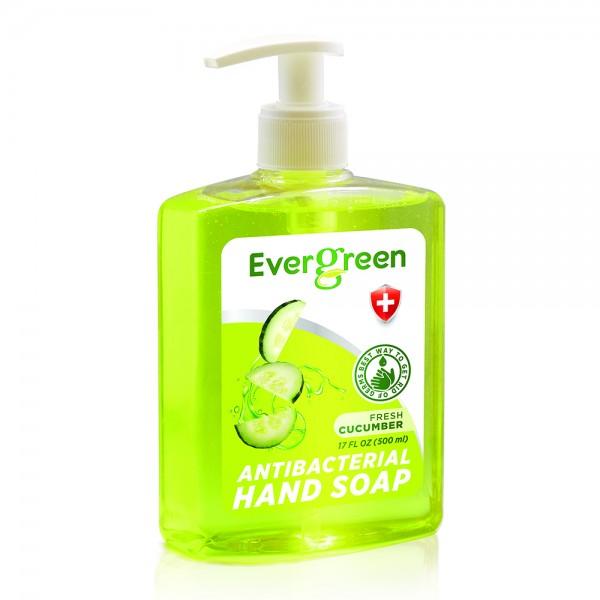 Evergreen Antibacterial Hand Soap Fresh Cucumber 534735-V001 by Evergreen