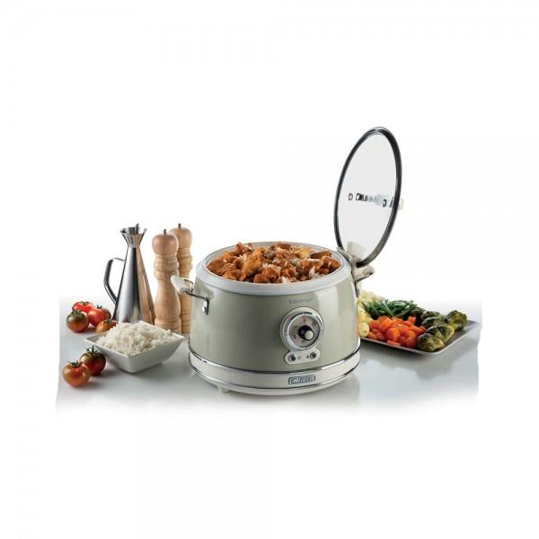 Ariete Vintage Rice Cooker Beige Non Stick 650W 534801-V001 by Ariete