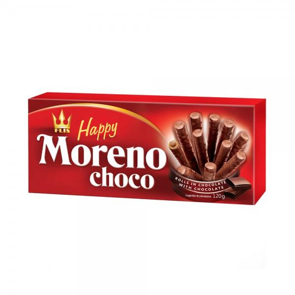 MORENO WAFER ROLLS IN CHOCO WITH CHOCO FILLING BOX 535039-V001 by Flis Happy