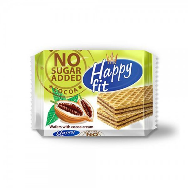 FIT COCOA WAFERS WITH CREAM LAYER NO SGR ADD 535044-V001 by Flis Happy