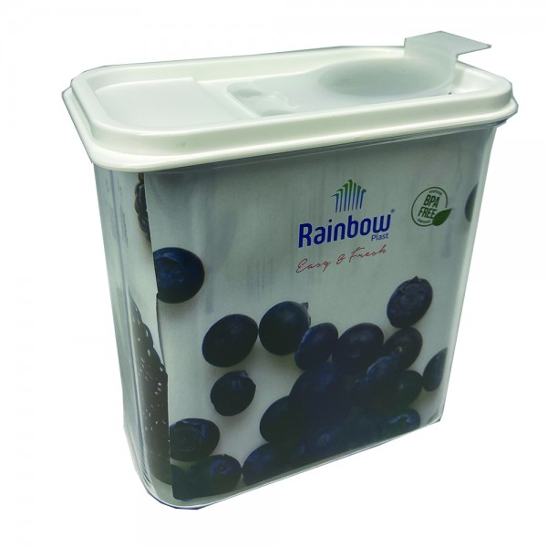 RECT. CEREAL STORAGE PLASTIC 535056-V001 by Rainbow Plast