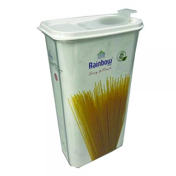 RECT. CEREAL STORAGE PLASTIC 535057-V001 by Rainbow Plast