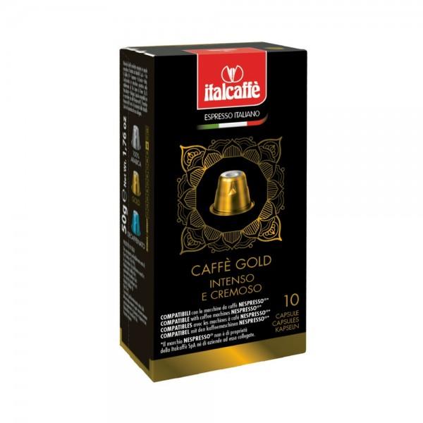 Italcoffe Coffee Capsules Espresso Gold 10pc 535301-V001 by Italcaffe