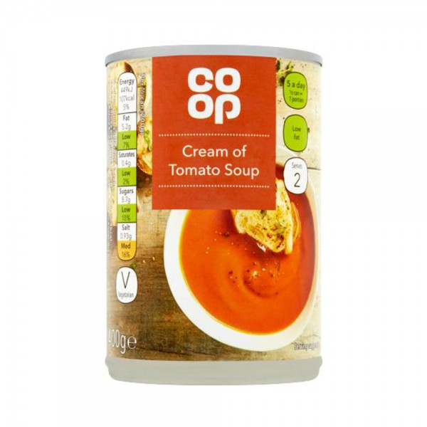CREAM OF TOMATO SOUP 535495-V001 by Co op