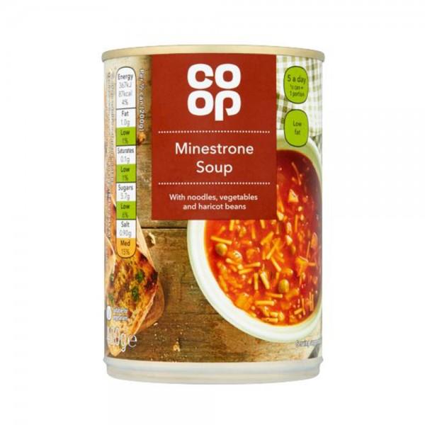 MINESTRONE SOUP 535501-V001 by Co op