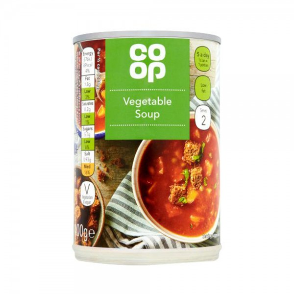 VEGETABLE SOUP 535505-V001 by Co op