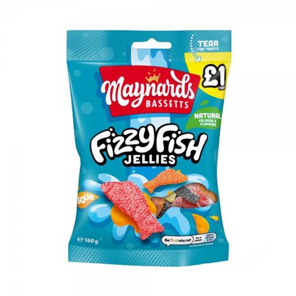 SOFT JELLIES FIZZY FISH 535535-V001 by Maynards