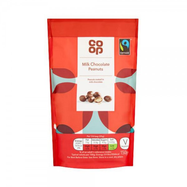 CHOCOLATE COATED PEANUTS 535559-V001 by Co op
