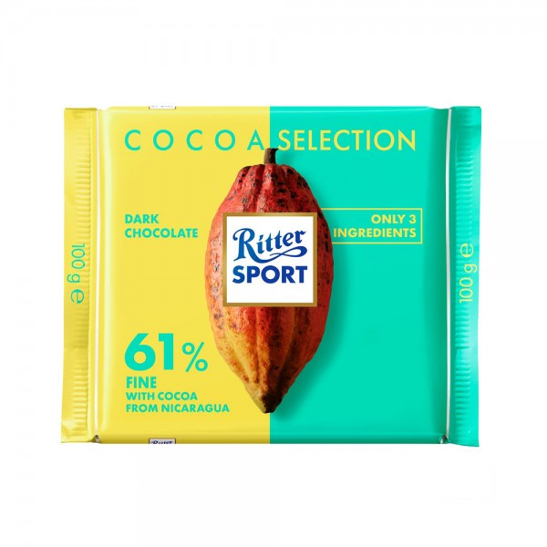 CHOCOLATE FINE 61PCT 535571-V001 by Ritter Sport