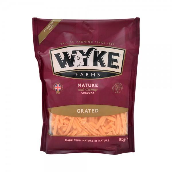 Wyke Grated Matured Coloured Cheddar 535655-V001 by Wyke Farms