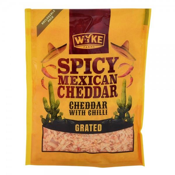 Wyke Grated Cheddar With Chilli 535656-V001 by Wyke Farms