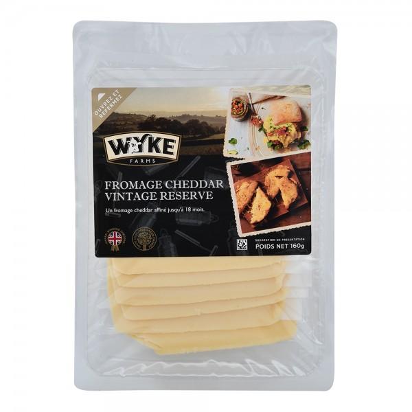 Wyke Sliced Ivy Vintage Cheddar 535680-V001 by Wyke Farms