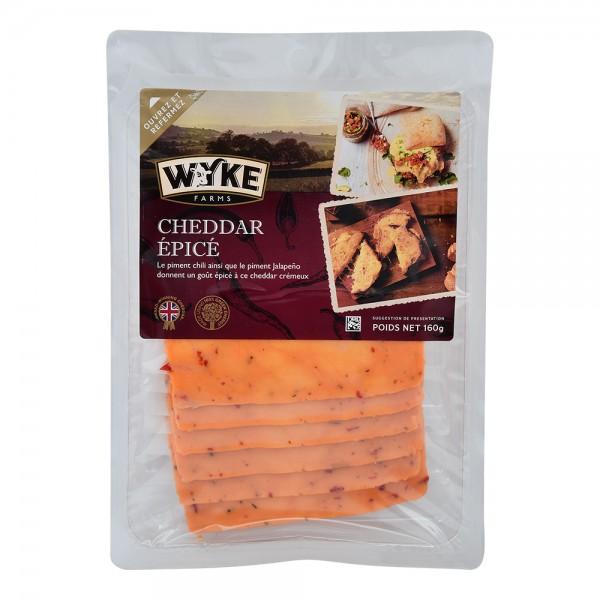 Wyke Sliced Cheddar With Chili 535682-V001 by Wyke Farms