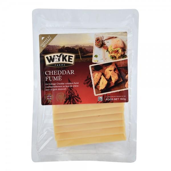 Wyke Sliced Smoked Cheddar 535683-V001 by Wyke Farms