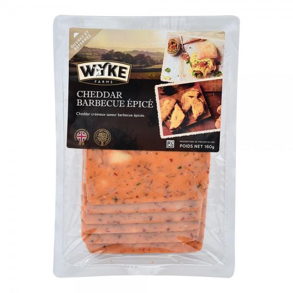 Wyke Sliced Cheddar Bbq 535685-V001 by Wyke Farms