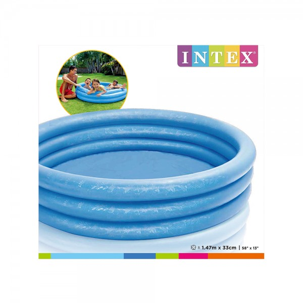 CRYSTAL BLUE POOL 1.47m x 33cm 535749-V001 by Intex