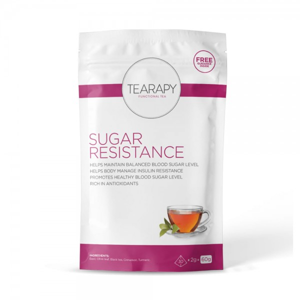 SUGAR RESISTANCE TEA BAGS 535900-V001 by Tearapy