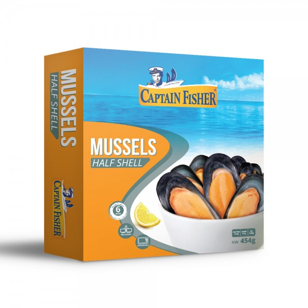 Captain Fisher Mussels Half Shell 535971-V001 by Captain Fisher