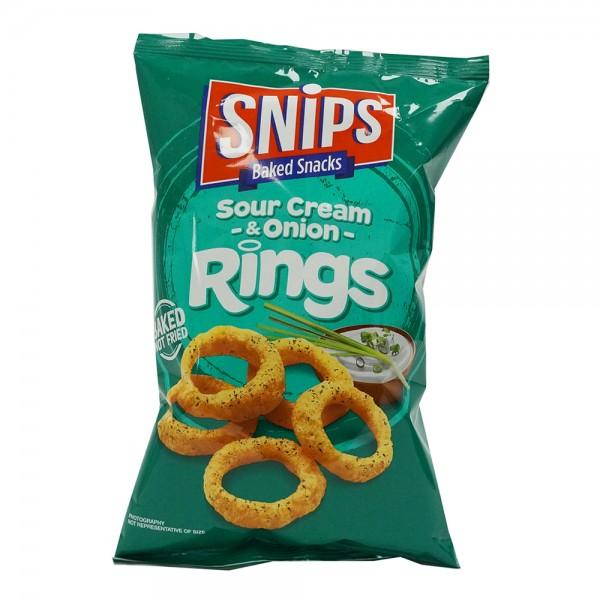 Snips Chips Rings Sour Cream+Onion 535978-V001 by Snips Baked Snacks
