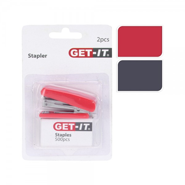 Get It Mini Stapler And Stables 2 Ass 536509-V001 by Get It