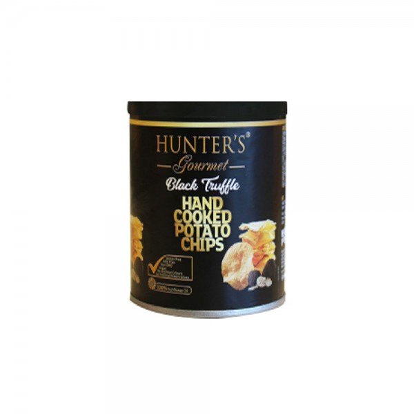 Hunters Potato Black Truffle Chips Can 536839-V001 by Hunter Foods