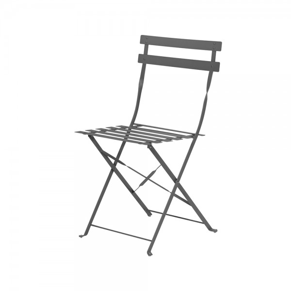 Eh Bistro Chair Dark Anthracite 536853-V001 by EH Excellent Houseware