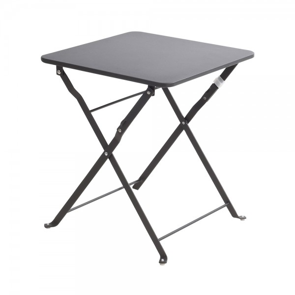 TABLE FOLDABLE ANTHRACITE 40X45X40CM 536855-V001 by EH Excellent Houseware