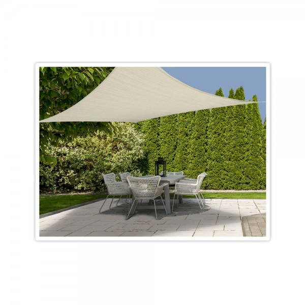 SHADE CLOTH SQUARE OFF WHITE 536892-V001 by Ambiance