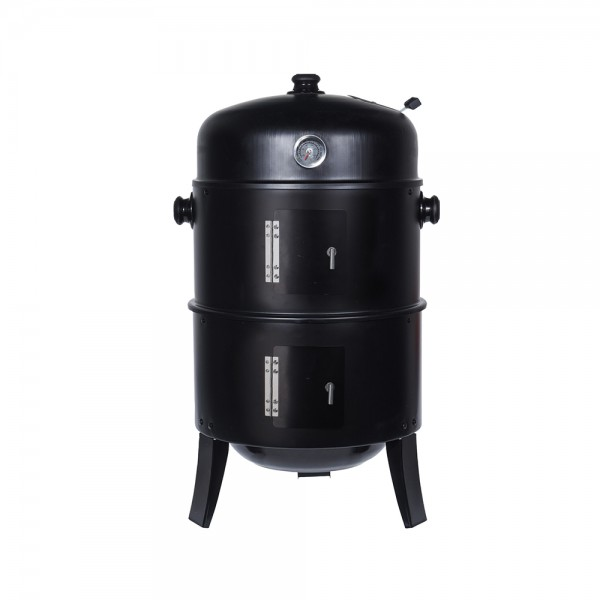 Bbq Smoker And Gril 2 In 1 Black 536896-V001 by BBQ
