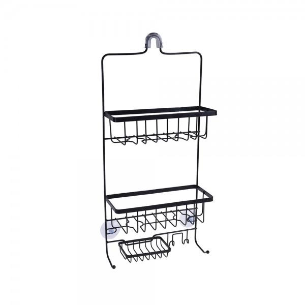 B.Solution Hanging Bathroom Shelf W.Suction Cup 536912-V001 by Bathroom Solutions