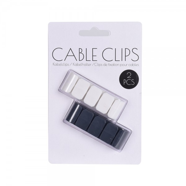 CABLE CLIPS 64X12MM 536916-V001 by EH Excellent Houseware