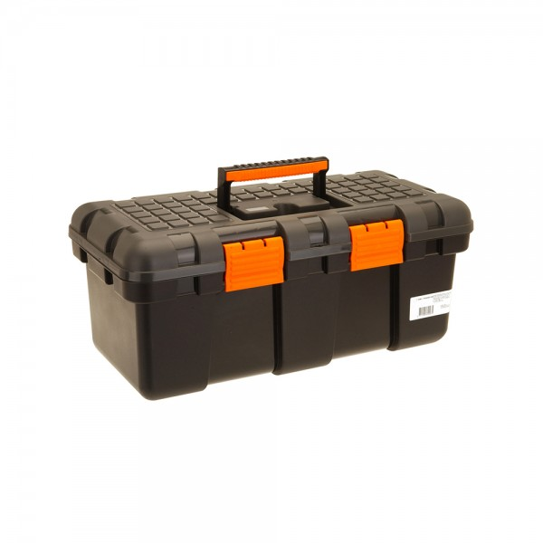 TOOL BOX STRATOS GREY ORANGE 50X25X23CM 536929-V001 by FX Tools