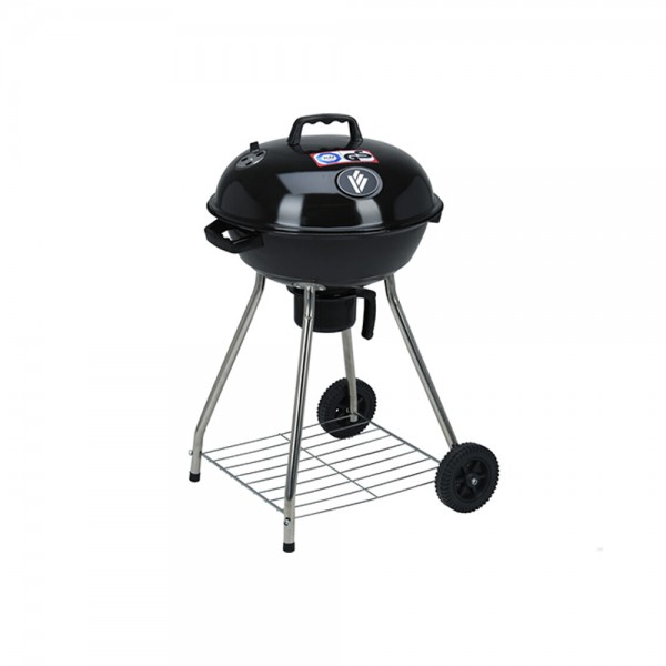 Vaggan Bbq Grill With Black Wheels 536950-V001 by Vaggan