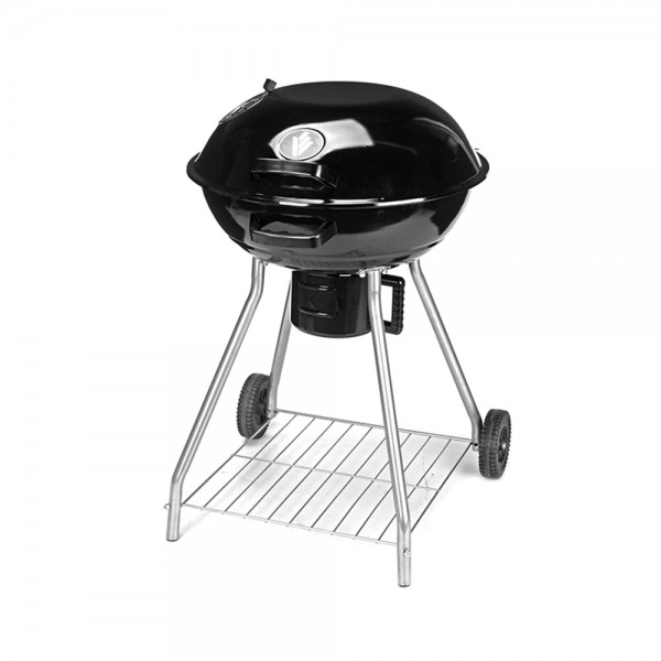 Vaggan Barbecue Grill With Lid Black 536951-V001 by Vaggan