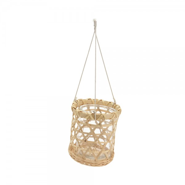 Eh Hanging Flower Pot Glass 536957-V001 by EH Excellent Houseware