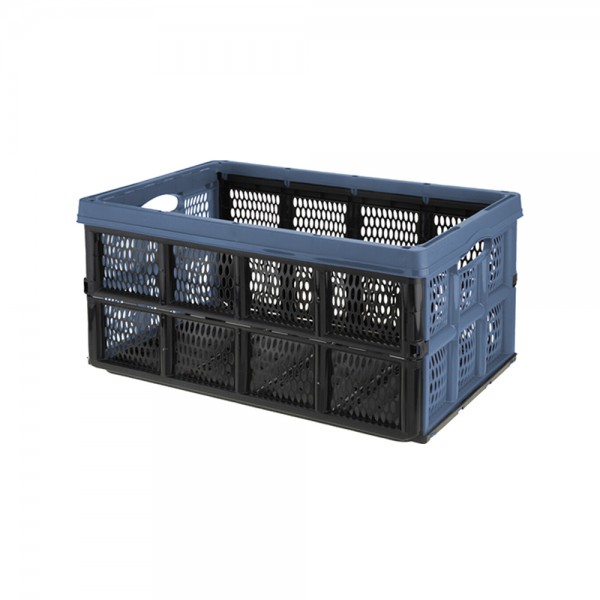 FOLDABLE STORAGE CRATE MIX COLOR 536972-V001 by EH Excellent Houseware