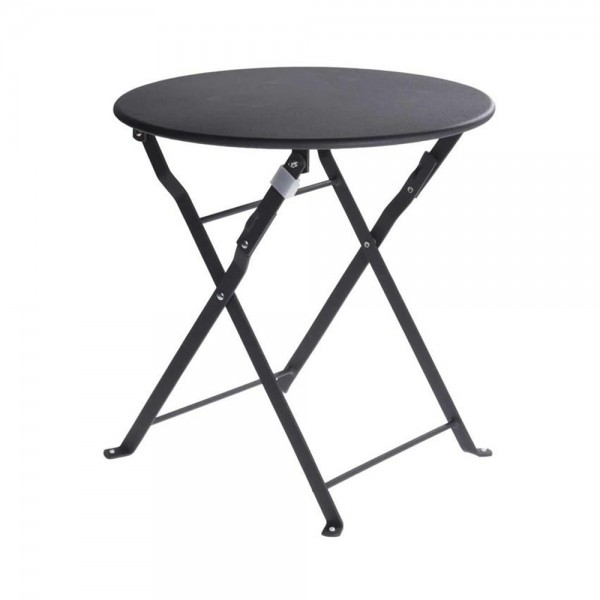 BISTRO ROUND TABLE GREY 536973-V001 by EH Excellent Houseware