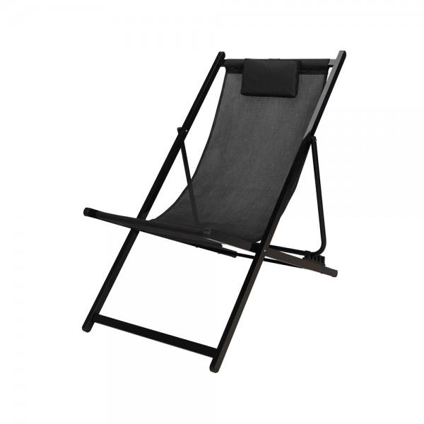 Eh Folding Chair Aluminium Frame+Pillow 536976-V001 by EH Excellent Houseware