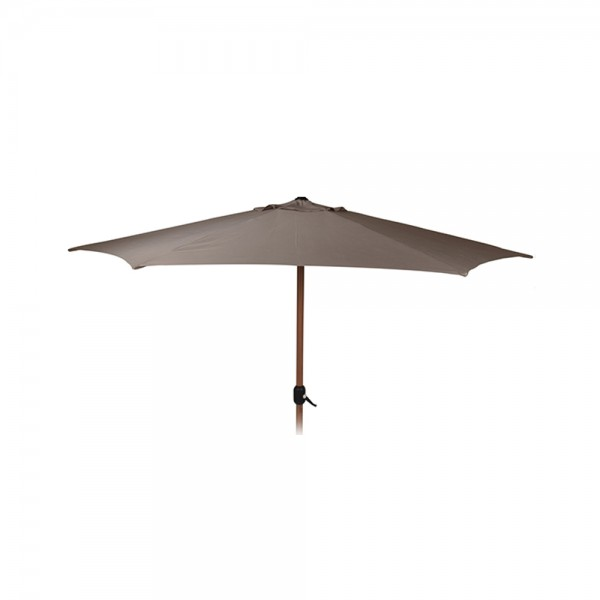 Eh Umbrella Taupe Wooden Look 536980-V001 by EH Excellent Houseware