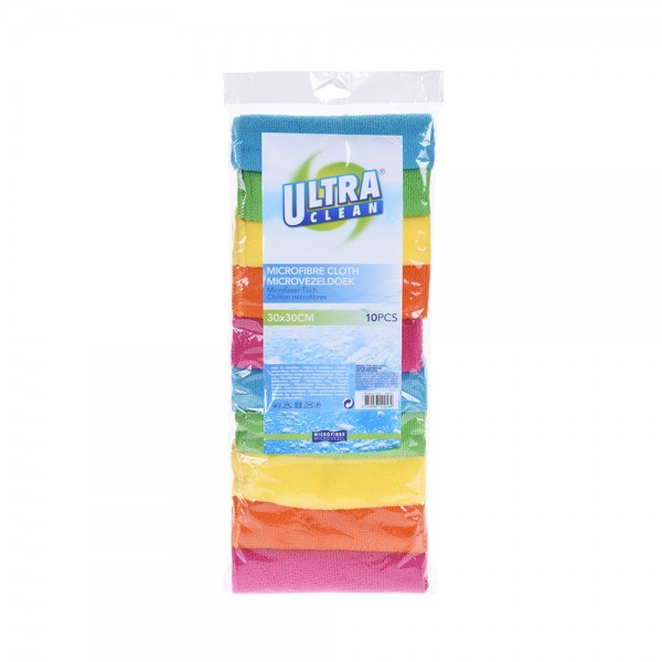 Ultraclean Microfiber Cloth Set Of10 536997-V001 by Ultraclean