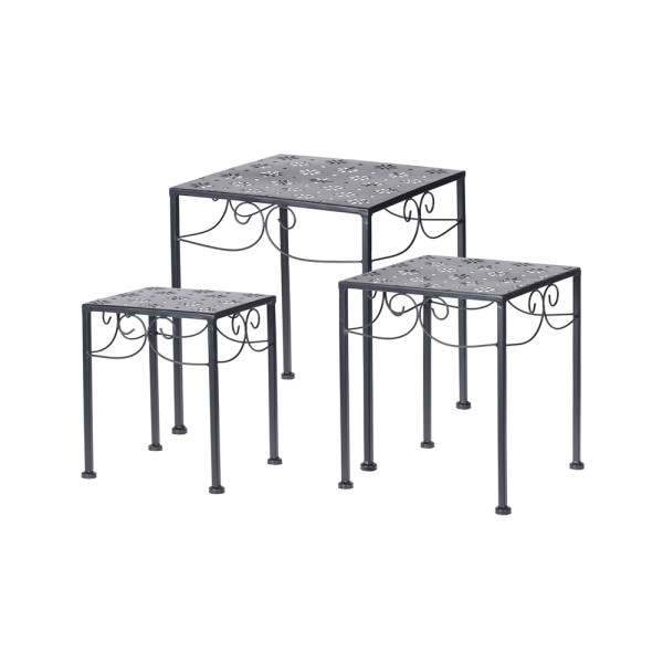 Eh Garden Side Table Set Square 537003-V001 by EH Excellent Houseware