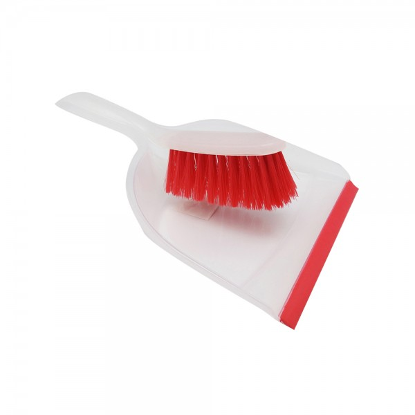 DUSTPAN AND BRUSH 3ASS CLR 537026-V001 by Ultraclean