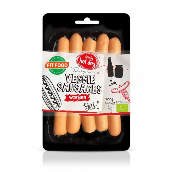 Fit Food Veggie Sausages 537344-V001 by Fit Food