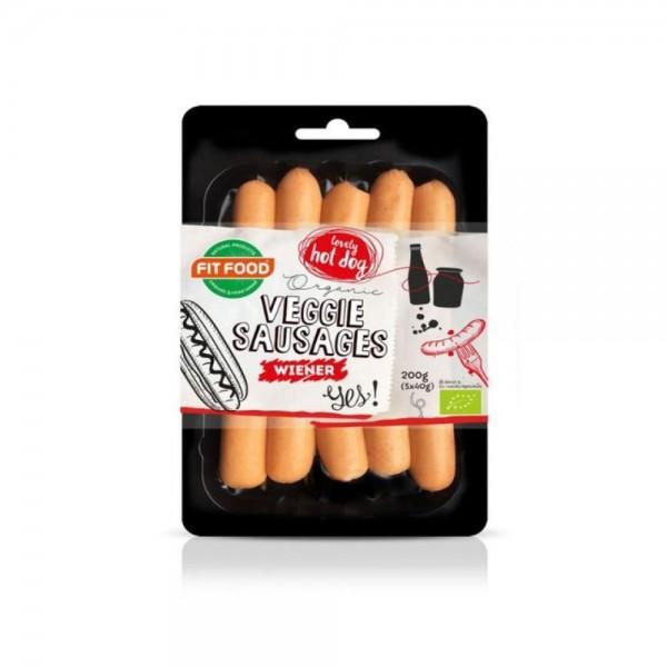 Fit Food Sausages Veggitasty 200g 537347-V001 by Fit Food