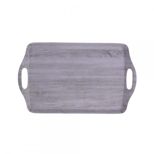 SERVING TRAY MELAMINE PLAIN MIXED COLOR 537558-V001 by EH Excellent Houseware