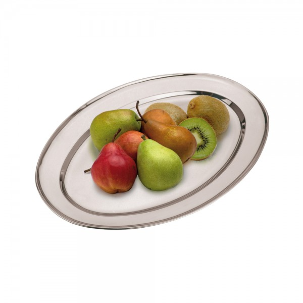 SERVING PLATE STAINLESS STEEL 537592-V001 by EH Excellent Houseware