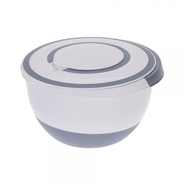 MIXING BOWL PLASTIC MIXED COLOR 537594-V001 by EH Excellent Houseware