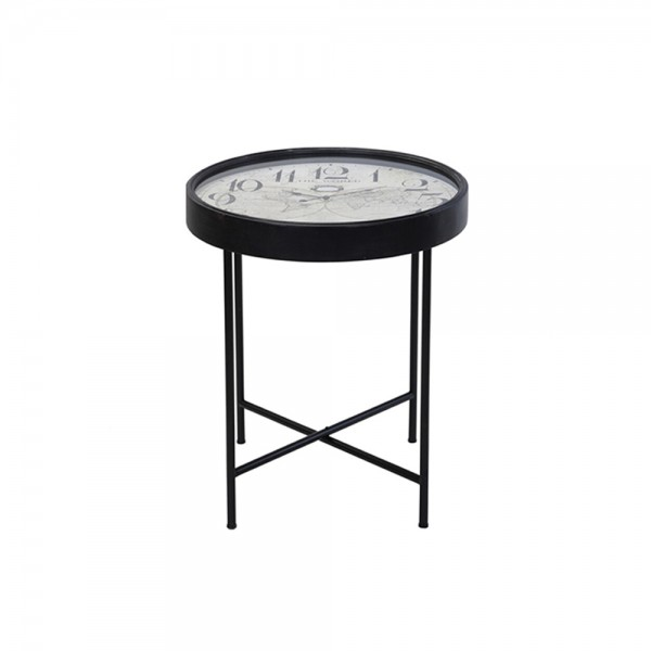 TABLE WITH CLOCK 537630-V001 by EH Excellent Houseware